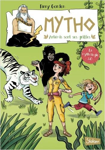 Mytho, Artémis sort ses griffes  - Lecture roman jeunesse mythologie humour - Dès 8 ans