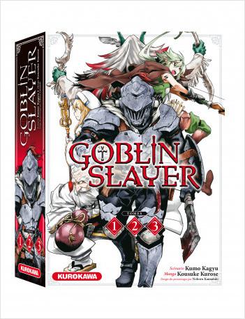 COFFRET - Goblin Slayer - tomes 1-2-3