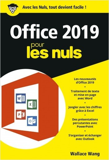 Office 2019 pour les Nuls, poche  - Word, Excel, PowerPoint et Outlook