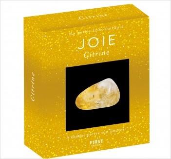 Coffret-Ma petite lithothérapie - Joie, citrine, à chaque pierre son pouvoir