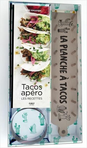 Coffret La planche à tacos apéro