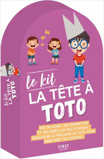 Le kit La Tête à Toto – des petits livres pleins de blagues pour devenir le roi de la récré !