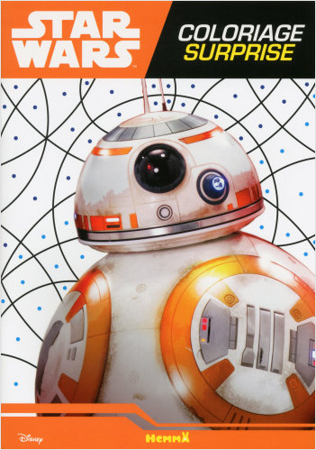 Disney Star Wars - Le Réveil de la Force Ep VII - Coloriage surprise (BB-8)