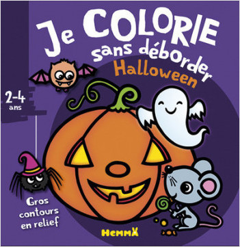 Je colorie sans déborder - Halloween
