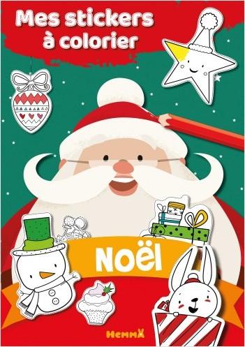 Mes stickers à colorier - Noël