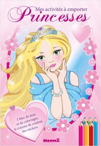 Princesses - Mes activités à emporter