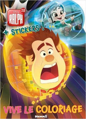 Disney Ralph 2.0 - Vive le coloriage !