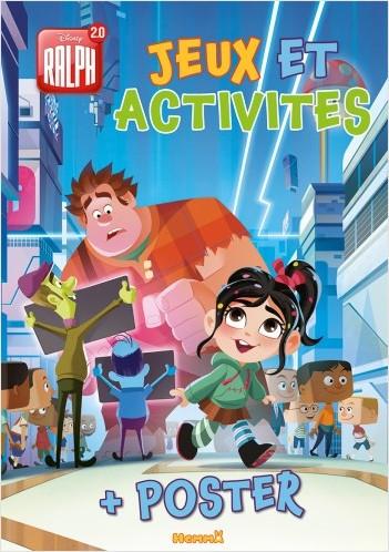 Disney Ralph 2.0 - Jeux et Activités + un grand poster