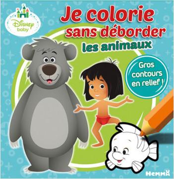 Disney Baby - Je colorie sans déborder (Animaux)