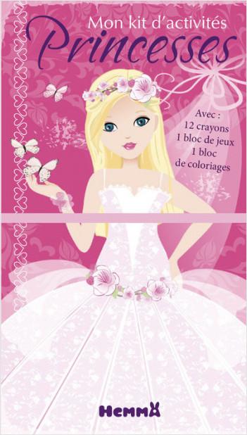 Princesses - Mon kit d'activités (Papillons)
