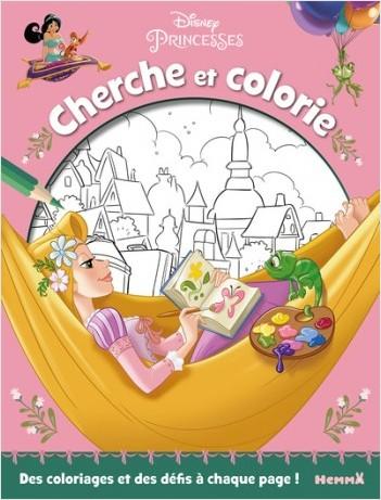 Disney Princesses - Cherche et colorie