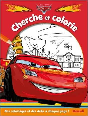 Cars - Cherche et colorie