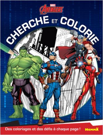 Disney Marvel Avengers - Cherche et colorie