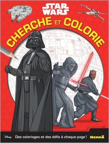 Disney Star Wars - Cherche et colorie