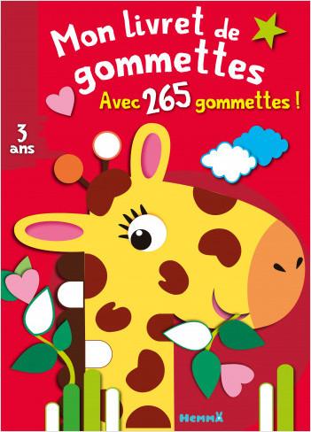 Mon livret de gommettes (Girafe)