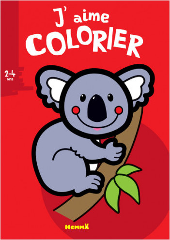 J'aime colorier (2-4 ans) (Koala)