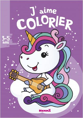 J'aime colorier (3-5 ans) (licorne)