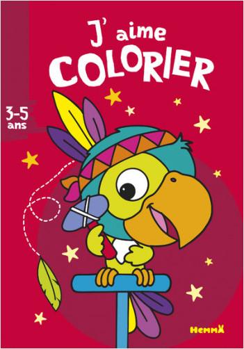 J'aime colorier (3-5 ans) (Perroquet-indien)