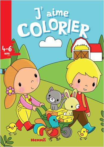 J'aime colorier (4-6 ans) (Ferme)