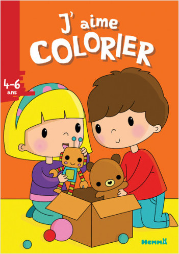 J'aime colorier (4-6 ans) (Jouets)