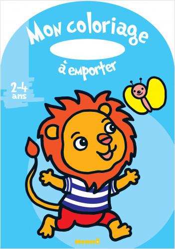 Mon coloriage à emporter (2-4 ans) (Lion)