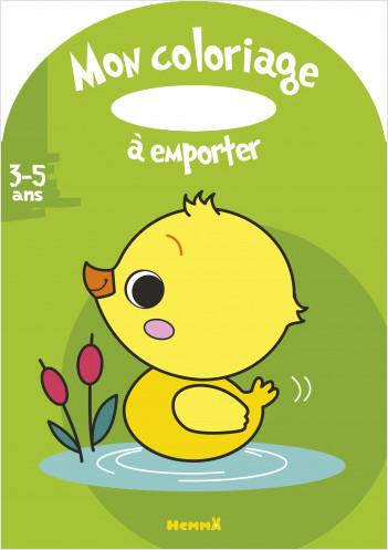 Mon coloriage à emporter (3-5 ans) (Canard)