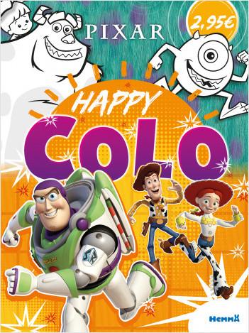 Disney Pixar – Happy Colo – Livre de coloriage – Dès 5 ans