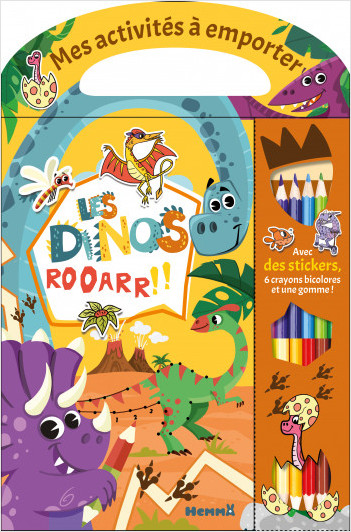 Mes activités à emporter - Les dinos - Activités - Dès 5 ans