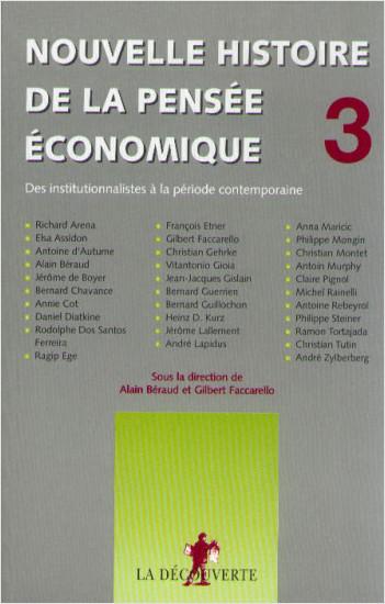 Nouvelle histoire de la pensée économique