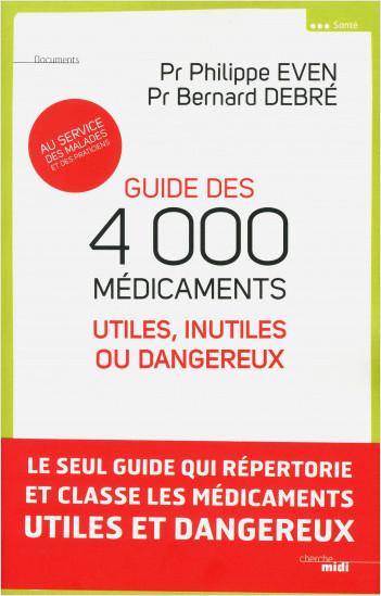 Appli Guide des 4000 médicaments utiles, inutiles ou dangereux (Iphone)