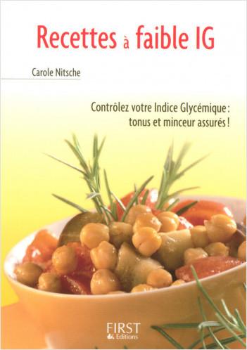 Le Petit Livre de - Recettes à faible IG (indice glycémique)