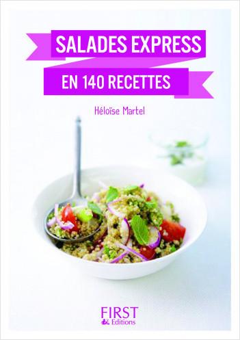 Petit Livre de - Salades express en 140 recettes, nouvelle édition