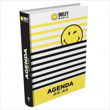 Smiley - Agenda classique 2020-2021