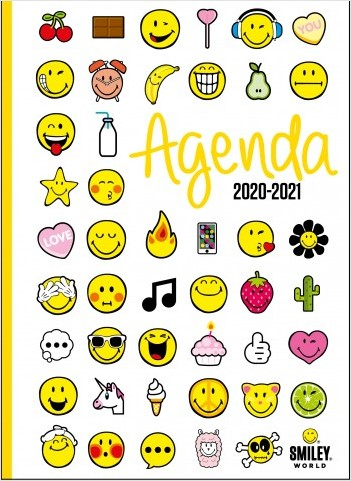 Smiley - Agenda émoticônes 2020-2021