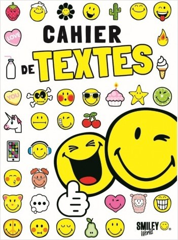 Smiley - Agenda de textes 2020-2021