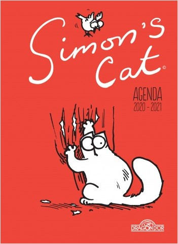 Simon's Cat - Agenda 2020-2021