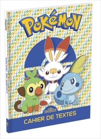 Pokémon - Agenda de textes 2020-2021