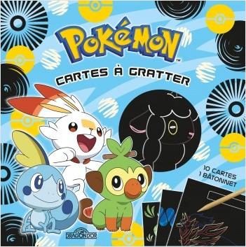 Pokémon - Cartes à gratter (Galar) - Pochette de 10 cartes à gratter - Dès 6 ans