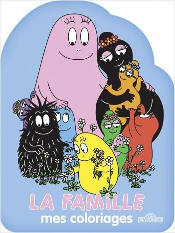 Barbapapa - Mes coloriages - La Famille