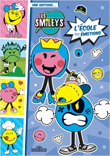 Les Smileys - L'École des émotions -  Lecture roman jeunesse - Dès 7 ans