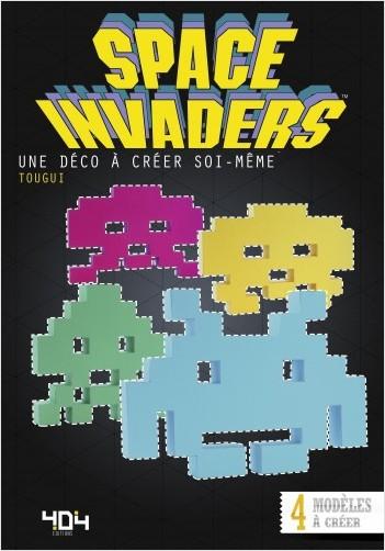Papertoy Space Invaders - Une déco à créer soi-même