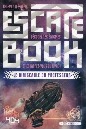 Escape Book Steampunk - Le Dirigeable du Professeur