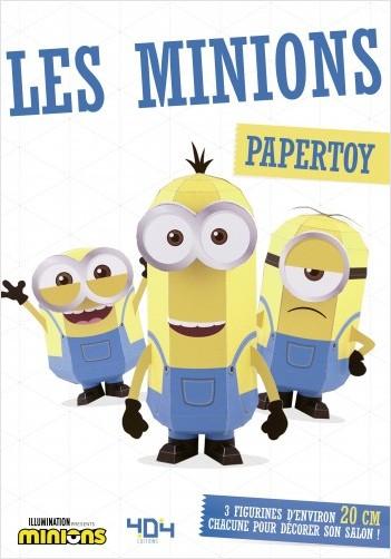Moi, moche et méchant - Papertoy Les Minions - Loisirs créatifs - Dès 11 ans