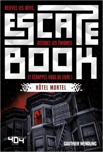 Escape Book - Hôtel Mortel