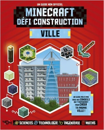 Minecraft, défi construction - Ville