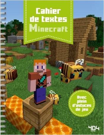 Cahier de textes Minecraft