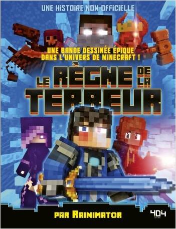 Minecraft : Le Règne de la Terreur - Bande dessinée jeunesse humour - Dès 10 ans