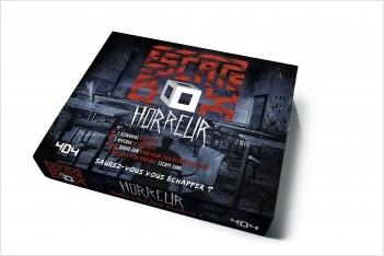 Escape Box Horreur - Escape game adulte de 3 à 6 joueurs - Dès 14 ans et adulte