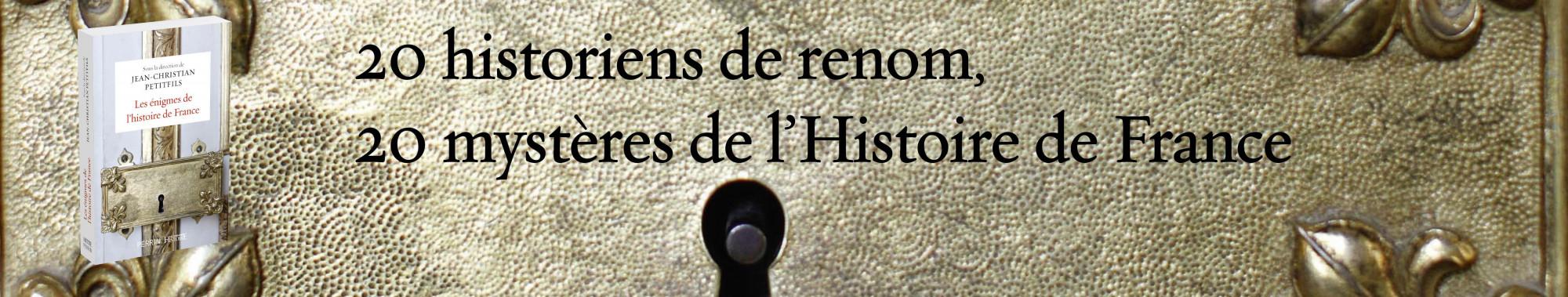 1801179 Mysteres et enigmes Histoire de France