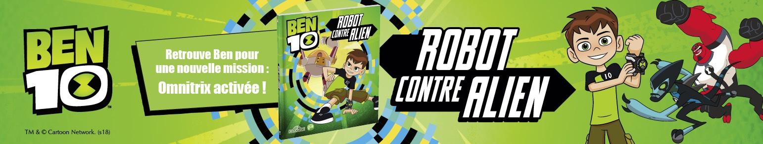 Ben 10 Robot contre Alien